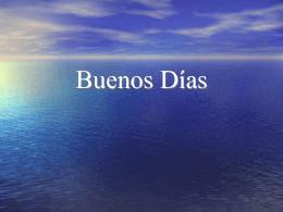 Buenos Días - Fernando Galindo Soria