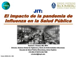 JIT: El impacto de la pandemia de Influenza en la Salud Pública