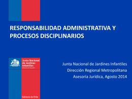 responsabilidad administrativa y procesos disciplinarios
