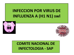 Infección Por Virus De Influenza A SAP