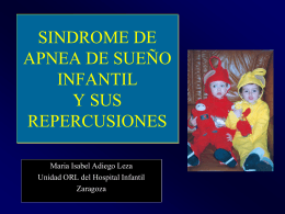 SINDROME DE APNEA DE SUEÑO INFANTIL Y SUS