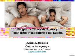 Programa apnea colsubsidio