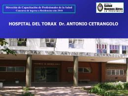 HOSPITAL DEL TORAX Dr. ANTONIO