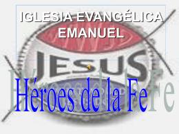 IGLESIA EVANGÉLICA EMANUEL
