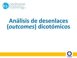 Análisis desenlaces dicotómicos