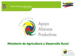 Alianzas Productivas - Gobernación del Huila