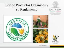 2.- Ley y Reglamento Productos Orgánicos