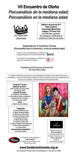 Programa 2011 - Psicogerontologia