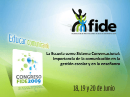 Congreso Fide red Age