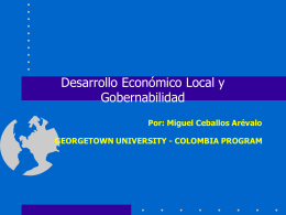 programa colombia-universidad de georgetown