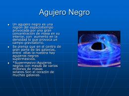 agujero negro de mecánica cuántica
