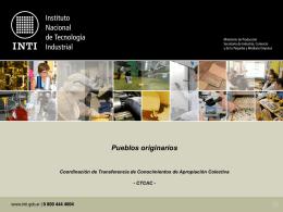 seminario taller economia y pueblos originarios