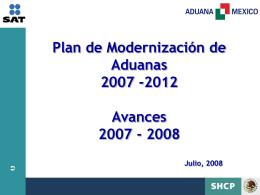 Confinamiento de Aduanas Descripción del Proyecto