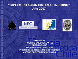 Implementación Sistema FIND-MIND