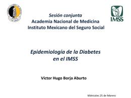 Dr. Víctor Hugo Borja Aburto - Academia Nacional de Medicina