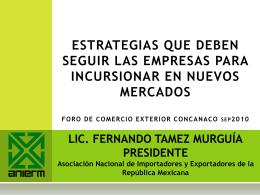 La Exportación - CANACO SERVYTUR Puebla