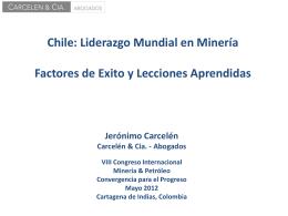 Nueva Ley de Minería