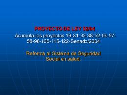 Proyecto de Ley 52/04