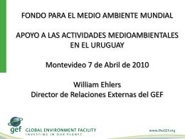 presentacion_gef_06042010 - Consejo Uruguayo para las