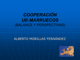 Programa Transfronterizo Bilateral ES-Marruecos