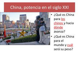 China: raíces milenarias y modernidad.