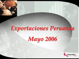 Mayo 2006 - Consulado Peru Toronto