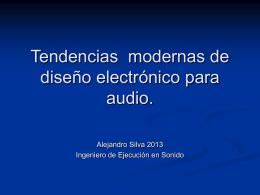 Tendencias modernas del diseño electrónico para