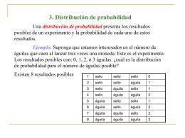 3. Distribución de probabilidad