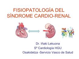 Fisiopatología del Síndrome Cardio