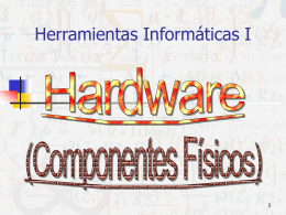 Herramientas Informáticas I