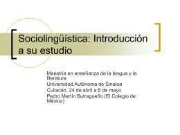 Sesiones teoricas - Temas 1 y 2