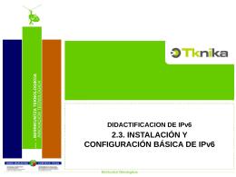 2.3.3. Windows 7. 2.3. INSTALACIÓN Y CONFIGURACIÓN BÁSICA