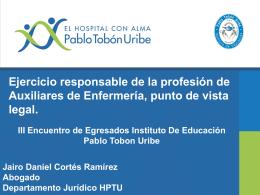 INS. EDUCACION 2015 - Hospital Pablo Tobón Uribe