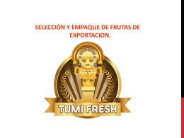 3 - Tumi Fresh