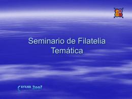 Seminario de Filatelia Temática