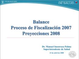 Diapositiva 1 - Superintendencia de Salud