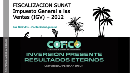 Luz Galindo:¿Como afrontar una fiscalización de Sunat sobre IGV?