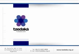 Clipping 2010 - Fundación Tzedaká