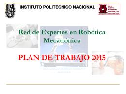 Robótica Mecatrónica - Avisos de Interés a la Comunidad del CIC IPN