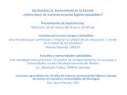 Conclusiones Seminario 6 NICARAGUASAN 2010