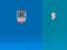 Universidad Nacional Rio Cuarto (Argentina)