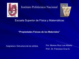 Tensores-2006 - Instituto Politécnico Nacional