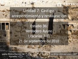 Zacarías - Iglesia Bíblica Bautista de Aguadilla