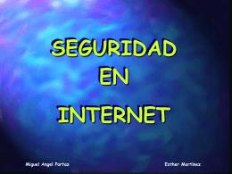Trabajo de seguridad en internet.