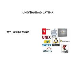 gnu/linux - Docencia FCA-UNAM