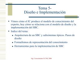 Tema 5- Formalización