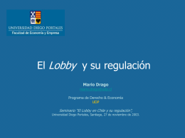 El Lobby en Chile y su Regulación