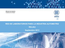Sacavini, Carlos INTI - Instituto Nacional de Tecnología Industrial