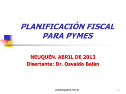 Planificación Fiscal para Pymes.