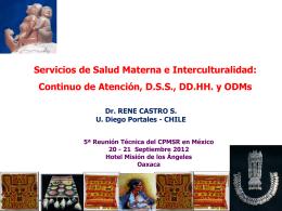 Servicios de Salud Materna e Interculturalidad